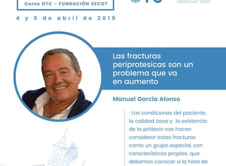 El Dr. García Alonso, director de ICOTVA, participa como profesor del curso OTC para residentes.