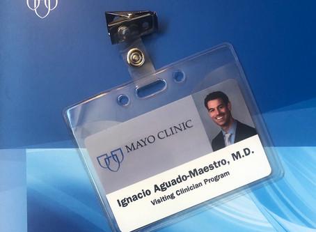 El Dr. Aguado realiza un fellow en la Unidad de Traumatología de la Clínica Mayo, EEUU