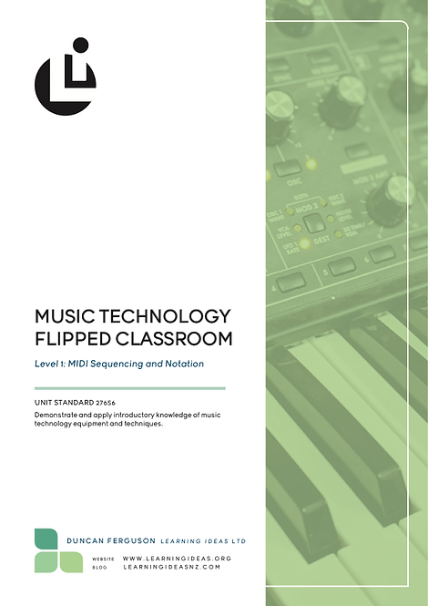 Flipped Classroom Level 1 MIDI (US 27656)