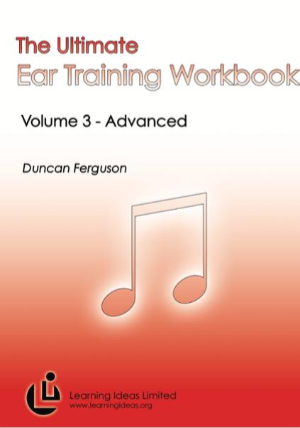 NCEA Ear Training Workbook Volume 3