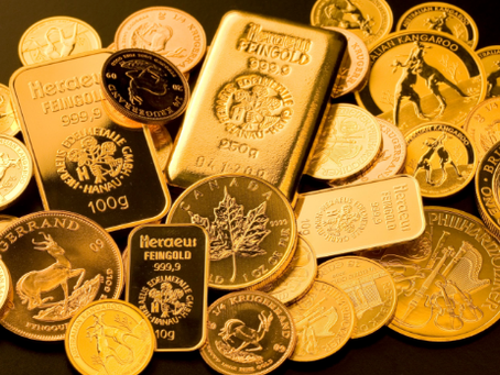 Gold is on the rise.