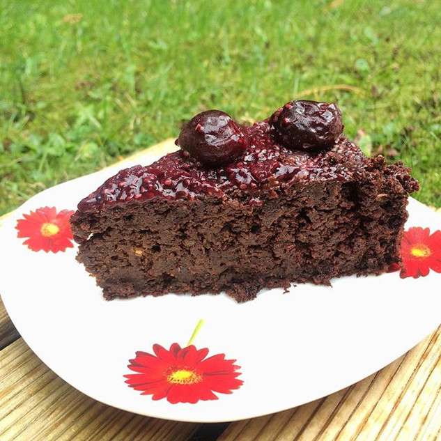 🍃Beetroot Chocolate Cake with homemade