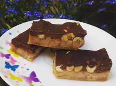 I posted recipe for Vegan Snickers a whi