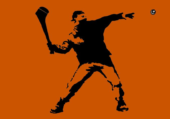Hurler on the wall