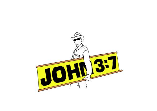 John 3.7