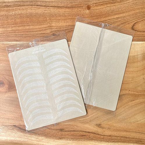 Machine Hair Stroke Practice Pad (Pack of 5)