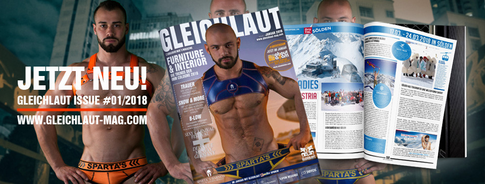 GLEICHLAUT - GAY MAGAZINE - Issue January 2018
