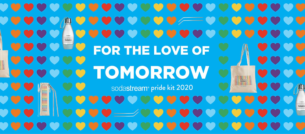 SodaStream Limited edition PRIDE Kit
