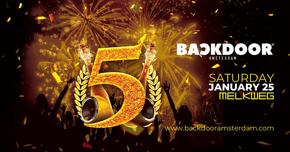 5 Jahre Backdoor in Amsterdam