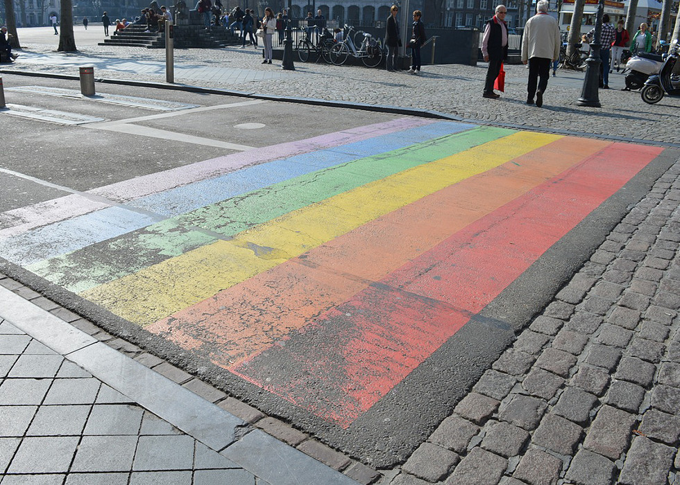 Regenbogen in Krefeld