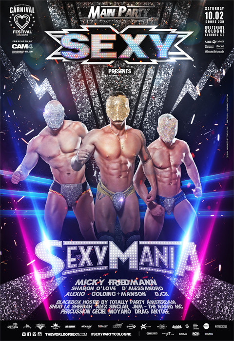 SEXY PARTY COLOGNE - SEXY CARNIVAL FESTIVAL 2018