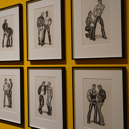 TOM OF FINLAND. MADE IN GERMANY