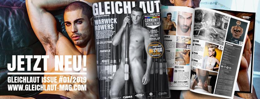 GLEICHLAUT - GAY MAGAZINE - Issue Januar 2019