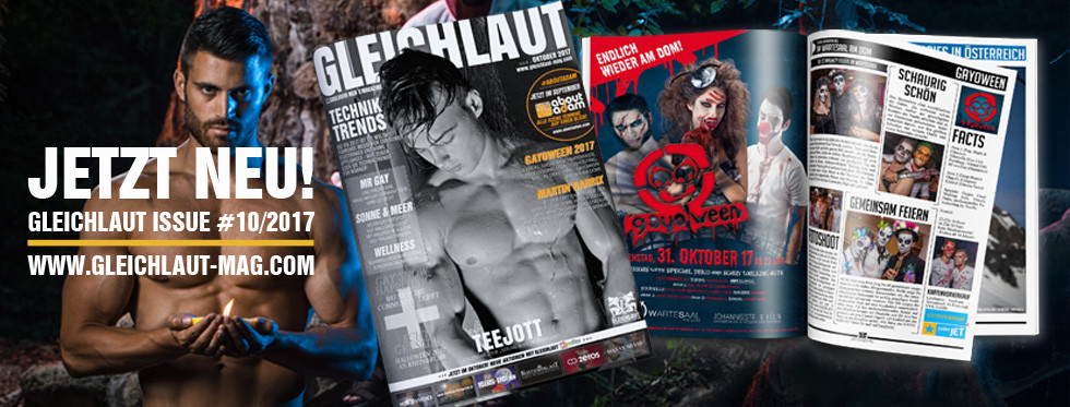 GLEICHLAUT - GAY MAGAZINE - Issue October 2017