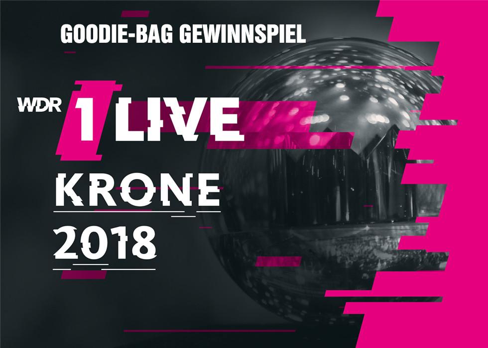 1LIVE Krone 2018 - Gewinnspiel