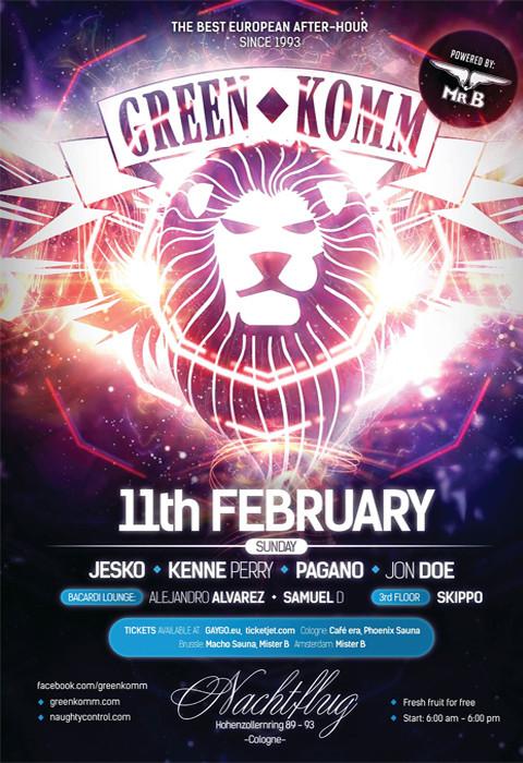 GREEN KOMM Carnival Edition am 11. Februar 2018