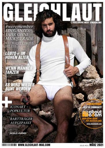 Gleichlaut März 2021 - das schwule online Magazin