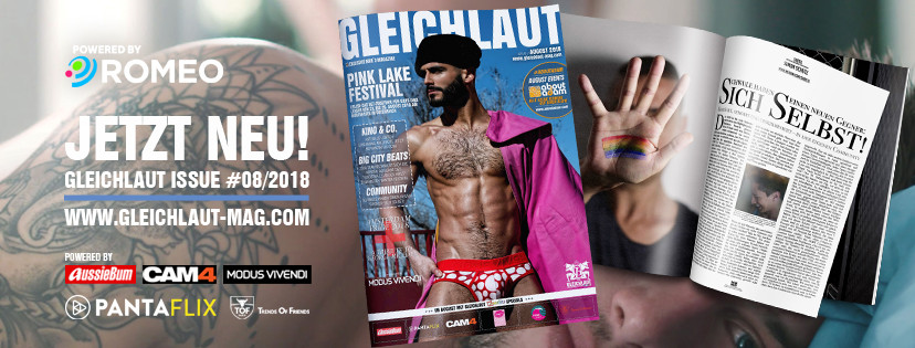 GLEICHLAUT Magazin - Issue August 2018