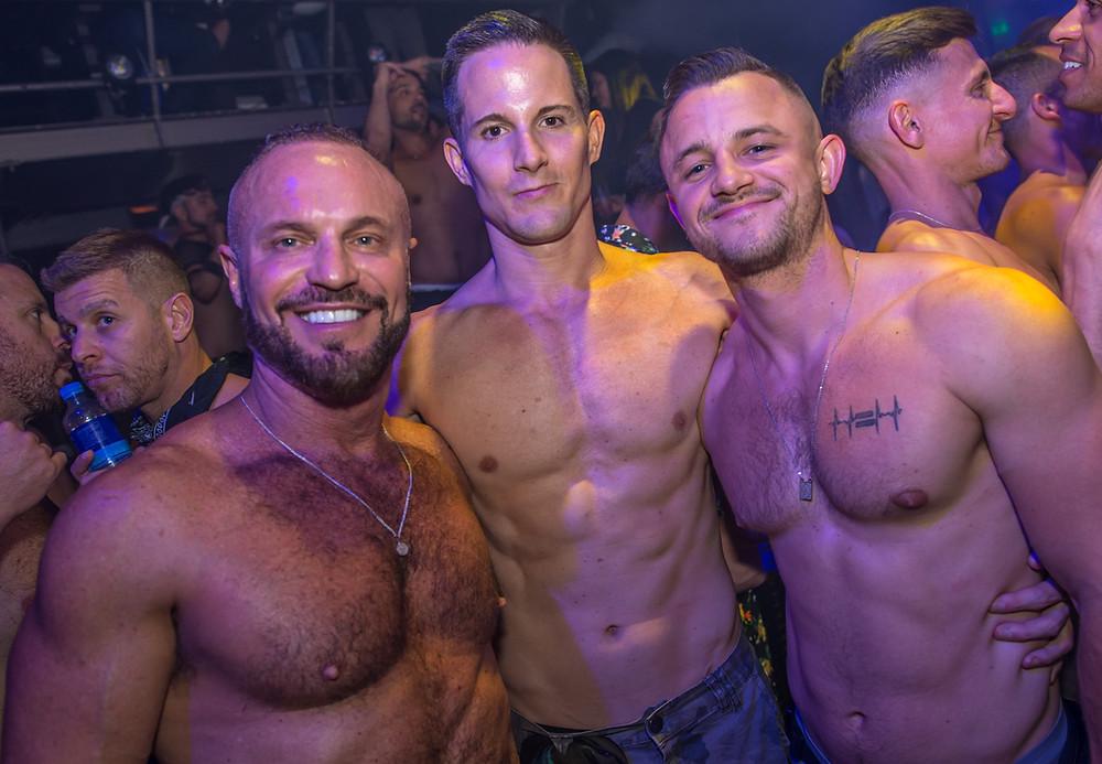 Die Party in Amsterdam für die LGBTQ+ Community