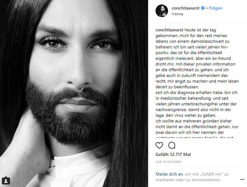 Conchita Wurst - Instagram