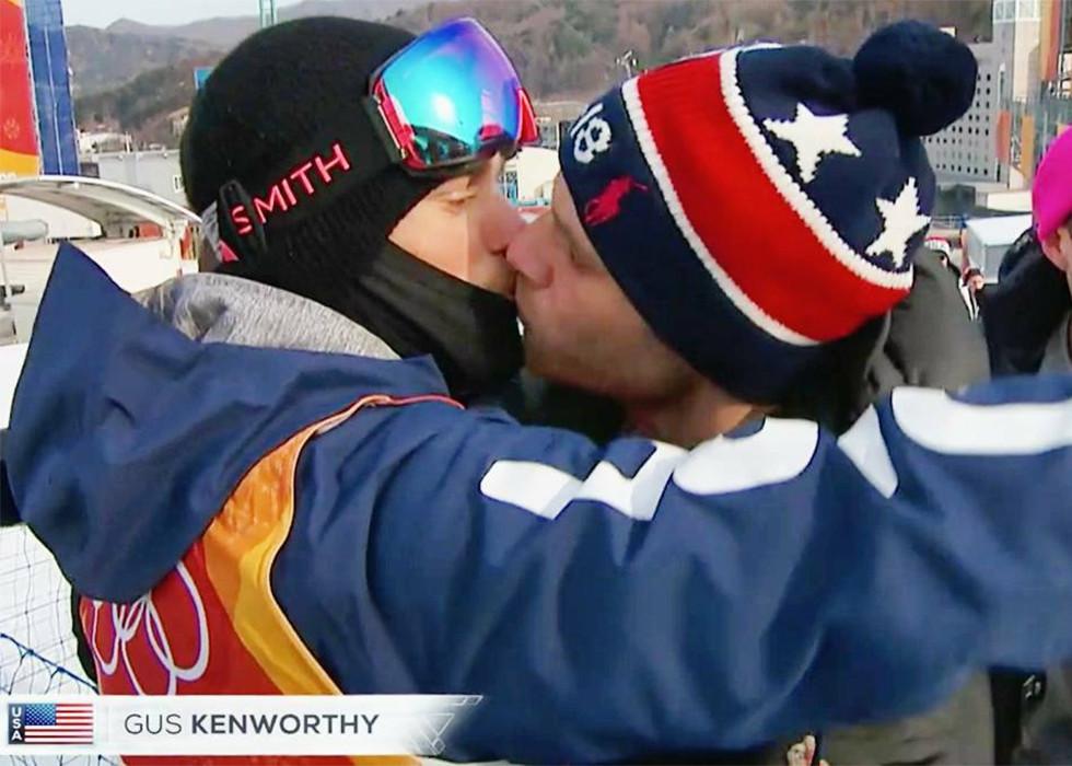Gus Kentworhty bei den Olympischen Spielen