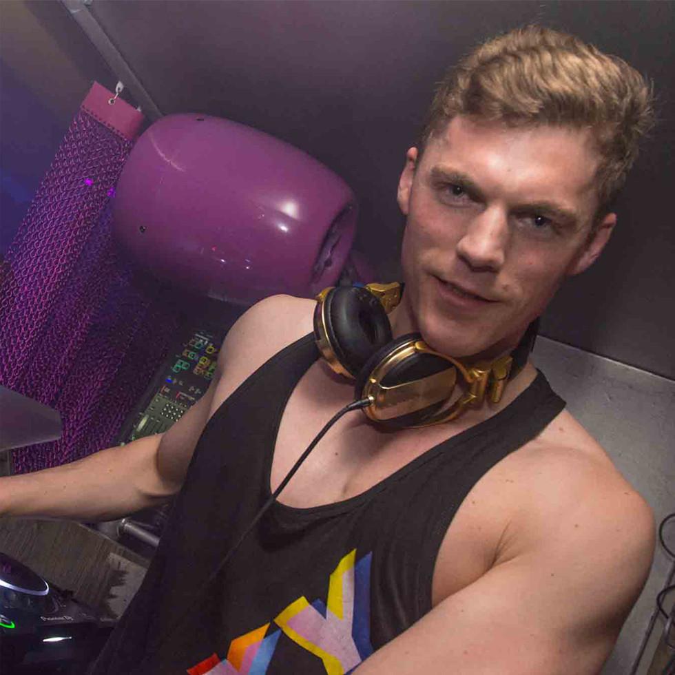 DJ Karl Kay im EXILE auf der Schaafenstraße