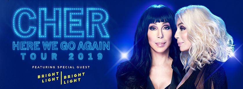 Bright Light Bright Light und Cher gemeinsam auf der Bühne