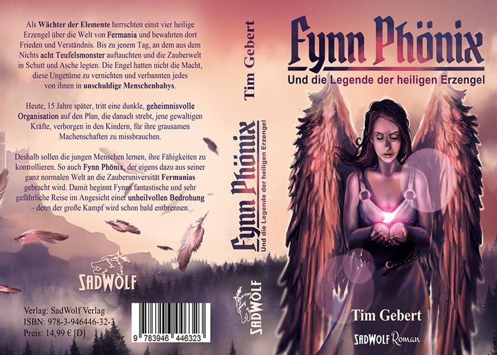 Tim Gebert - Fynn Phönix und die Legende der heiligen Erzengel
