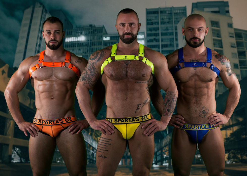 SPARTA´S HARNESS made in Italy - New Collection