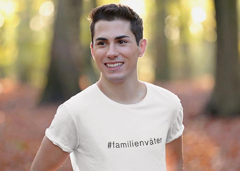 Joel Schiliro mit seiner Kampagne #familienväter