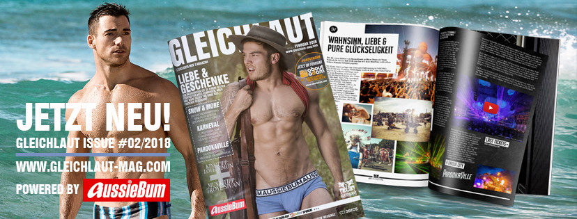 GLEICHLAUT - GAY MAGAZINE - Issue Februar 2018