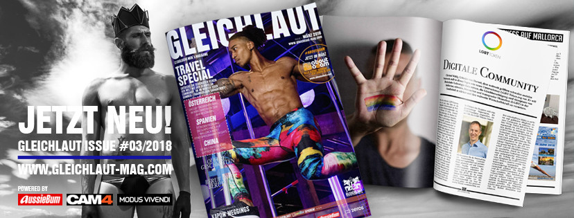 GLEICHLAUT - GAY MAGAZINE - Issue March 2018