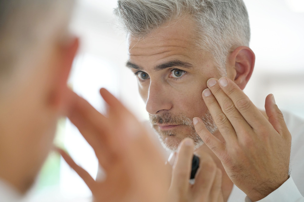 Männerhaut braucht Pflege (Foto: Adobe Stock)