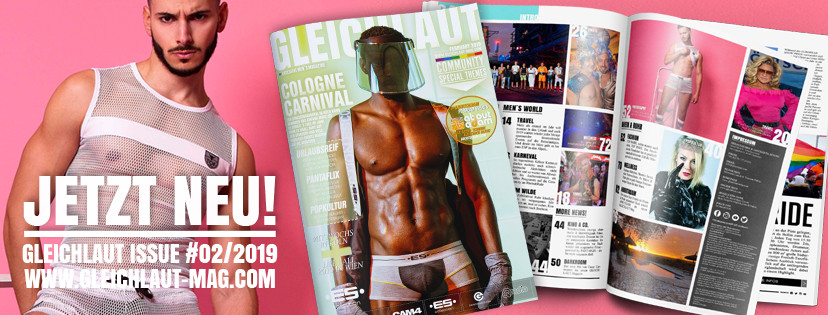 GLEICHLAUT - GAY MAGAZINE - Issue Februar 2019