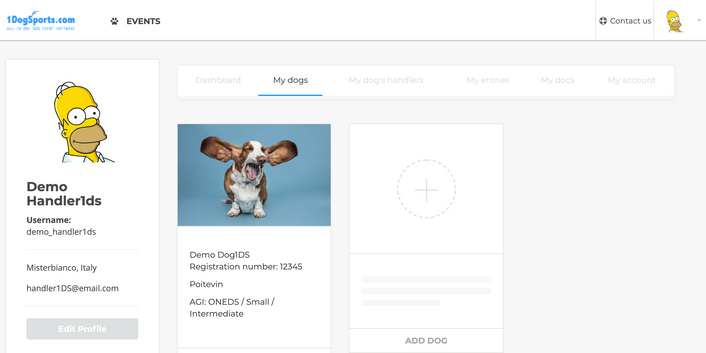 Member portal - My Dogs.png