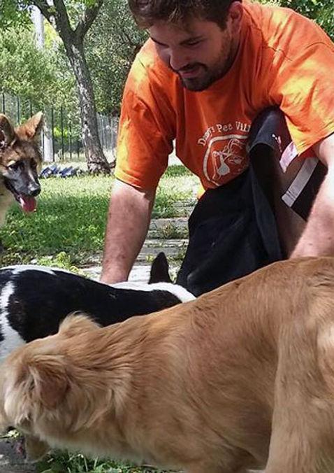 Giuseppe Amoroso Responsabile Tenico Danny's Pet Village Foggia