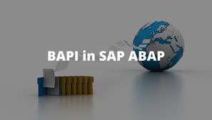 BAPI - Choosing The Right Strategy