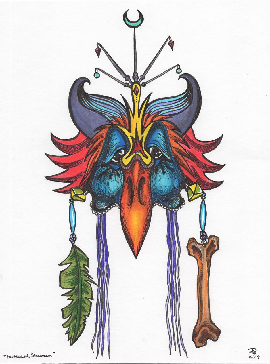 """""""Feathered Shaman"""""""