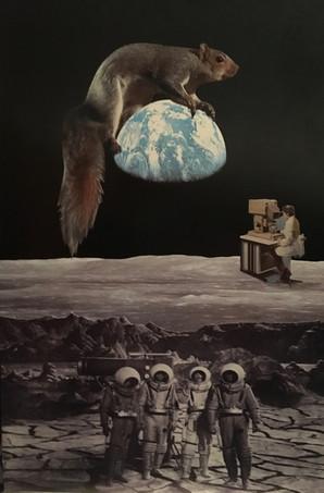 """Deep Space Squirrel"""