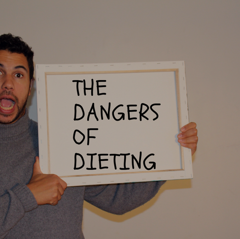 THE 9 DANGERS OF DIETING