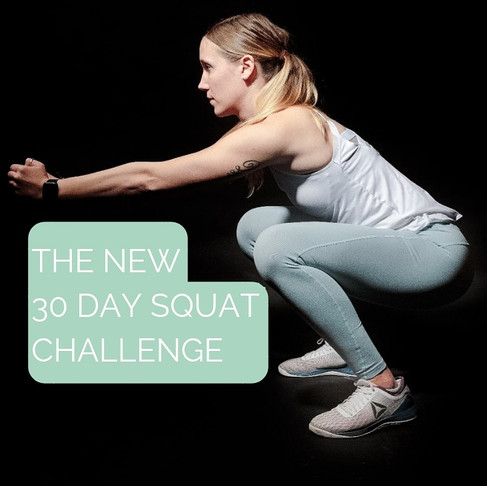 THE NEW 30 DAY SQUAT CHALLENGE