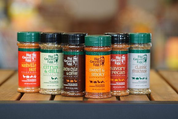 Big Green Egg Seasonings