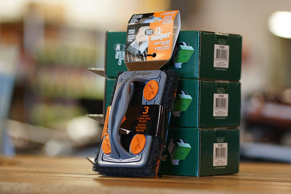 Q-Swiper Brush w/Swipe 3 Pack
