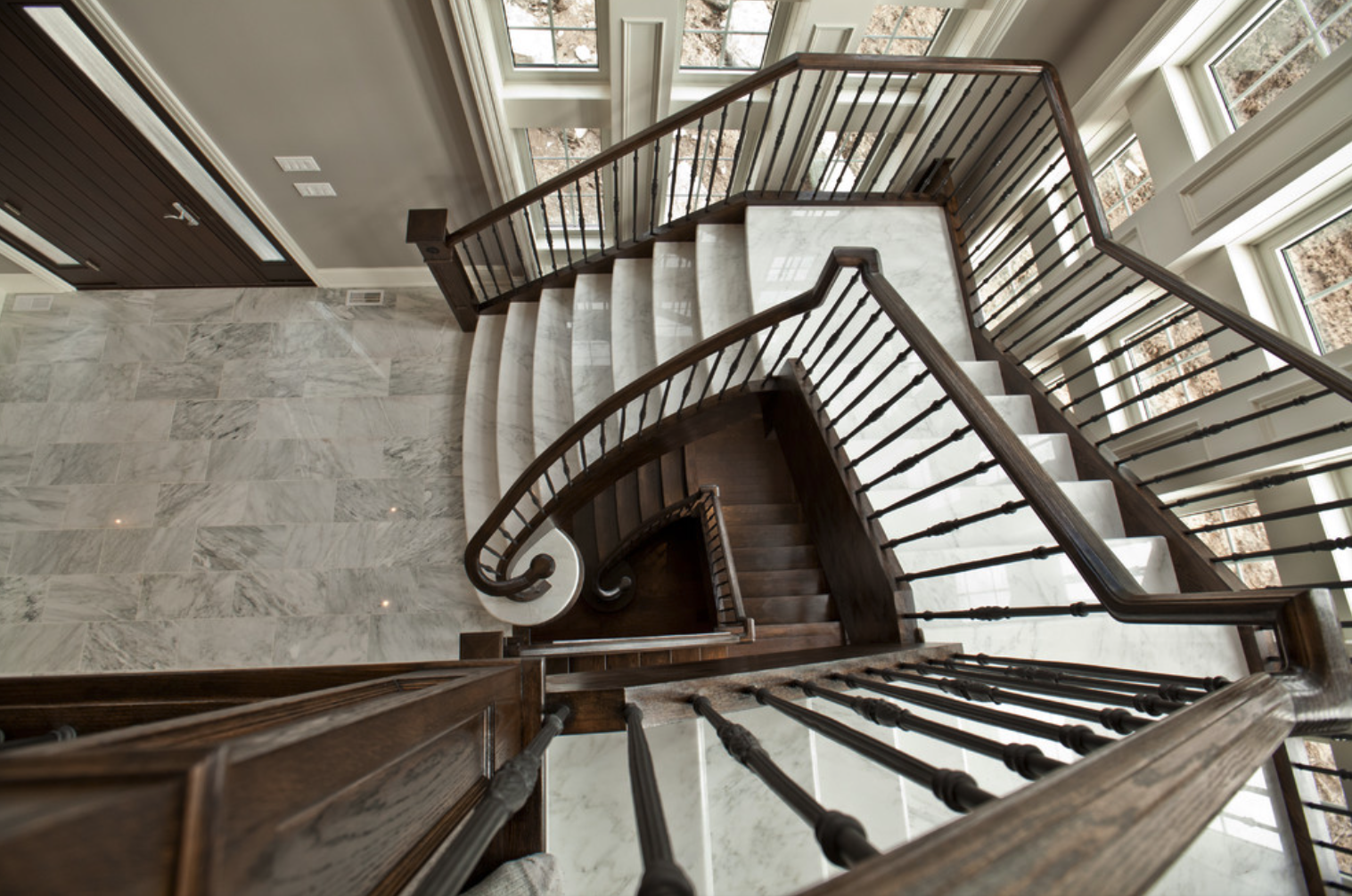 Almaz Worktops Staircase Inspiration Gallery