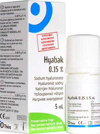 Hyabak 0.15%