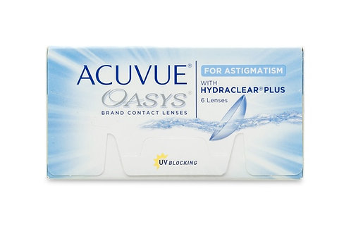 Johnson + Johnson Acuvue Oasys for Astigmatism