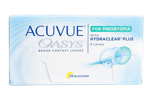 Johnson + Johnson Acuvue Oasys for Presbyopia