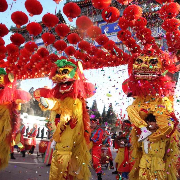 Spring Festival gathering