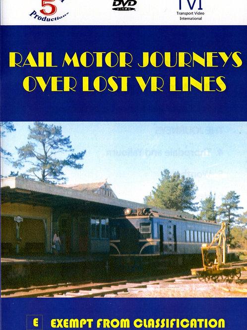 Rail Motor Journeys Over Lost VR Lines