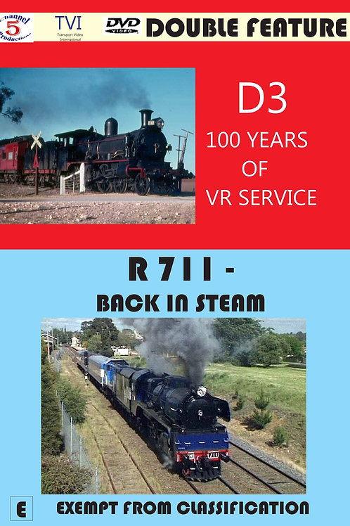 D3 – 100 years of VR Service/ R711 - Back in Steam
